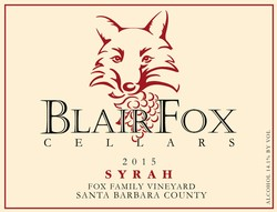 2015 Fox Family Vineyard Syrah Image