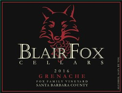 2016 Grenache, Fox Family Vineyard